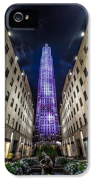 Rockefeller Center - New York - New York - Usa 3 IPhone 5 Case