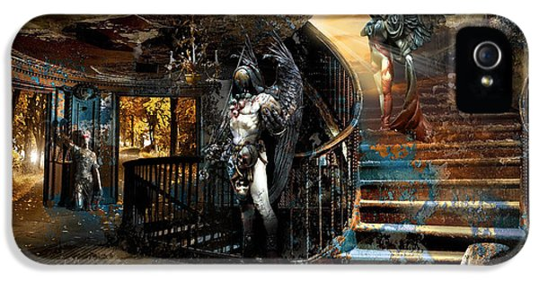 Stairway To Heaven Vs. Stairwell To Hell IPhone 5 Case