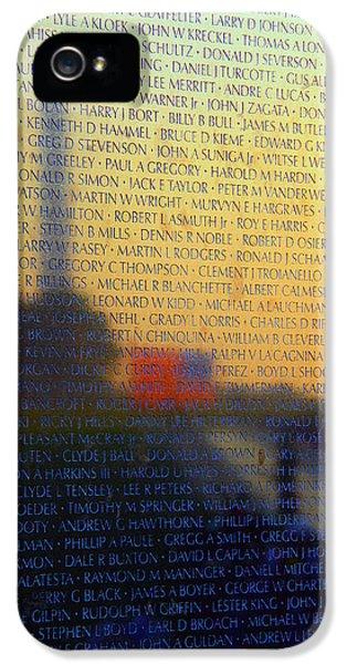 Vietnam Veterans Memorial IPhone 5 Case
