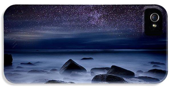 Beach iPhone 5 Case -  Where Dreams Begin by Jorge Maia