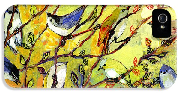 16 Birds IPhone 5 Case by Jennifer Lommers