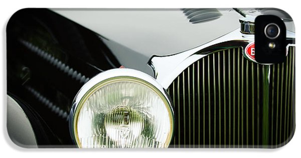 1936 Bugatti Type 57s Corsica Tourer Grille Emblem IPhone 5 Case by Jill Reger