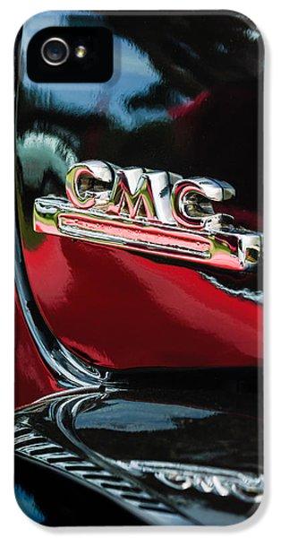 1952 Gmc Suburban Emblem IPhone 5 Case by Jill Reger