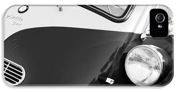 1957 Bmw Isetta 300  IPhone 5 Case by Jill Reger