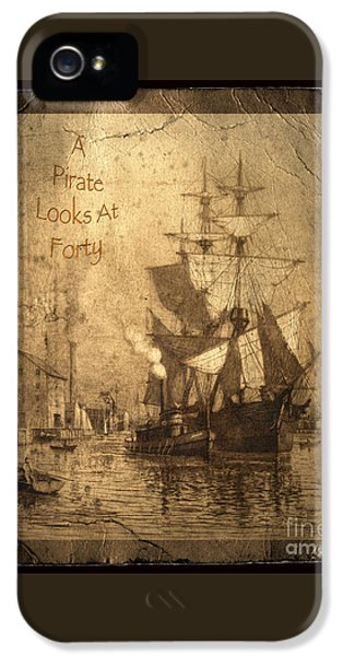 Parrot iPhone 5 Case - A Pirate Looks At Forty by John Stephens
