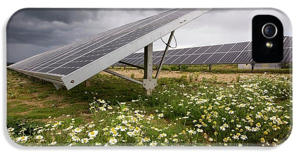 A Solar Park At Wheal Jane IPhone 5 Case