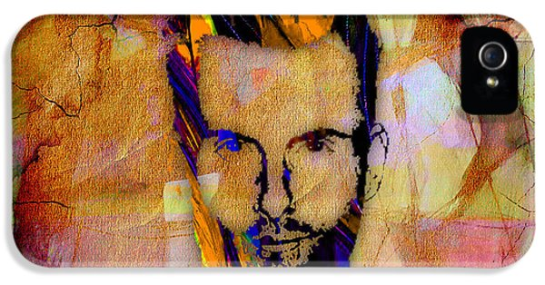 Adam Levine Painting IPhone 5 Case by Marvin Blaine