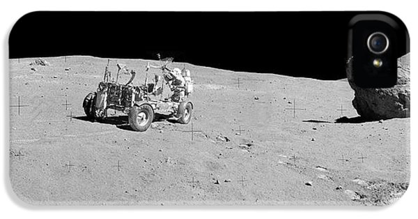 Apollo 16 Lunar Rover IPhone 5 Case by Nasa/detlev Van Ravenswaay