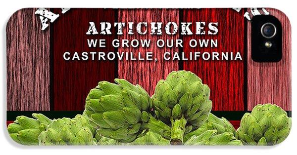 Artichokes Farm IPhone 5 Case