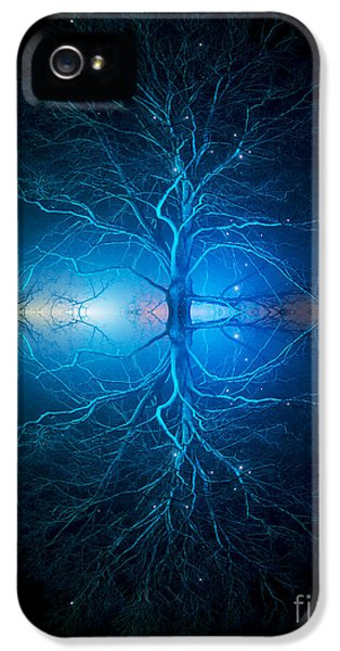 As Above So Below IPhone 5 Case by Tim Gainey