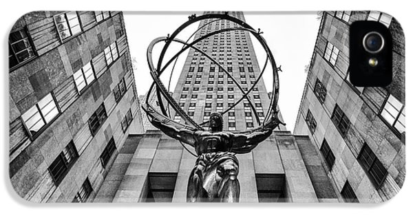 Atlas At The Rock IPhone 5 Case