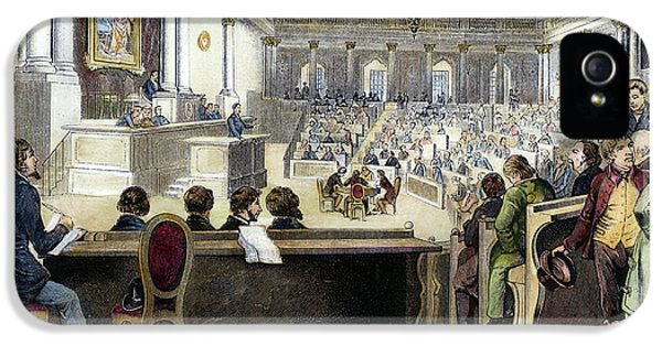 Constituent iPhone 5 Case - Austrian Assembly, 1848 by Granger