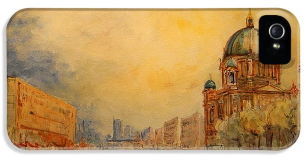 Berlin IPhone 5 Case by Juan  Bosco