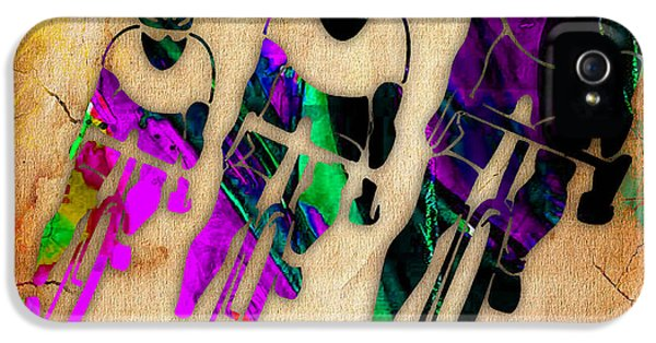 Bicycle Art IPhone 5 / 5s Case by Marvin Blaine