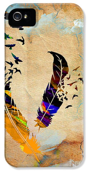 Birds Of A Feather IPhone 5 / 5s Case by Marvin Blaine