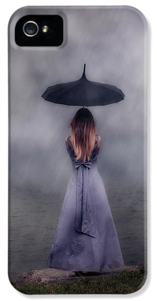 Black Umbrella IPhone 5 Case
