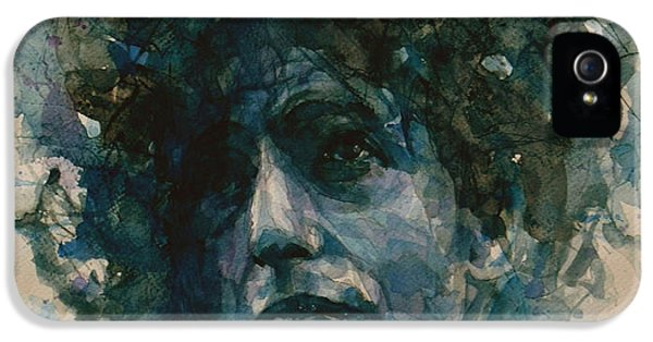 Bob Dylan IPhone 5 Case by Paul Lovering