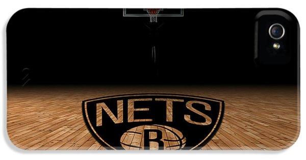 Brooklyn Nets IPhone 5 Case by Joe Hamilton
