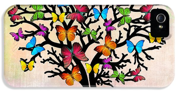 Butterfly IPhone 5 Case by Mark Ashkenazi