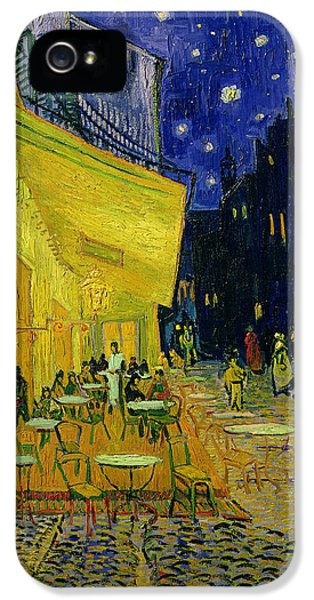 Town iPhone 5 Case - Cafe Terrace Arles by Vincent van Gogh