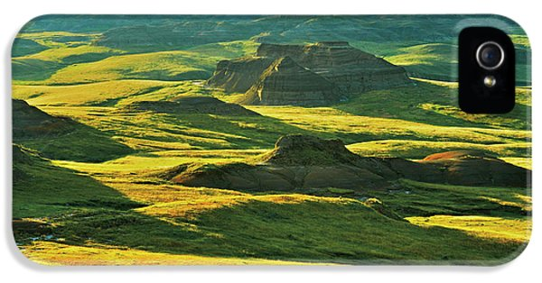Canada, Saskatchewan, Grasslands IPhone 5 Case by Jaynes Gallery