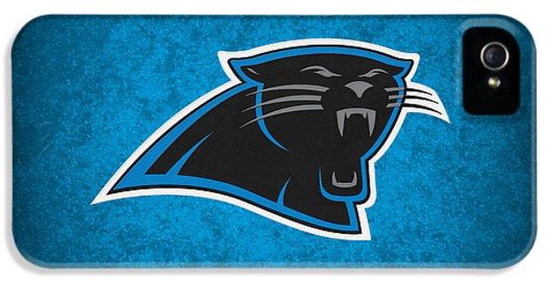 Carolina Panthers IPhone 5 / 5s Case by Joe Hamilton