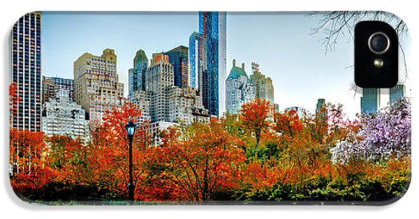 Changing Of The Seasons IPhone 5 Case by Az Jackson
