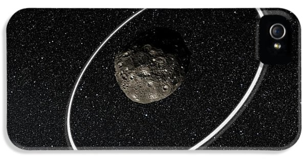 Chariklo Minor Planet And Rings IPhone 5 / 5s Case by European Southern Observatory
