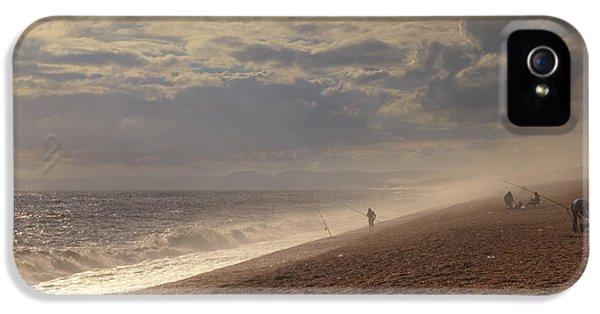 Dorset iPhone 5 Case - Chesil Beach by Joana Kruse