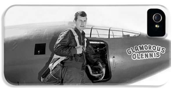 Chuck Yeager And Bell X-1 IPhone 5 Case