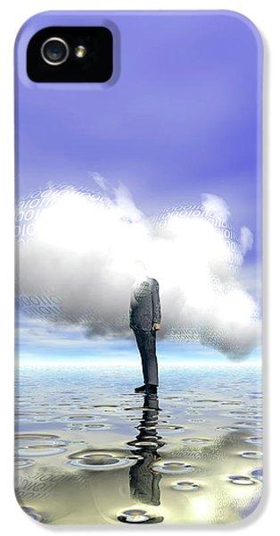 Cloud Computing IPhone 5 Case by Carol & Mike Werner