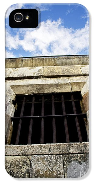 Dungeon iPhone 5 Case - Convict Cell by Jorgo Photography - Wall Art Gallery