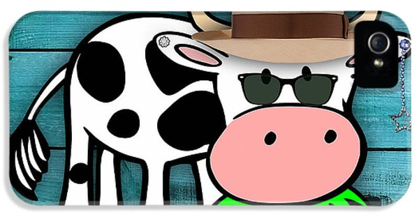 Cool Cow Collection IPhone 5 / 5s Case by Marvin Blaine