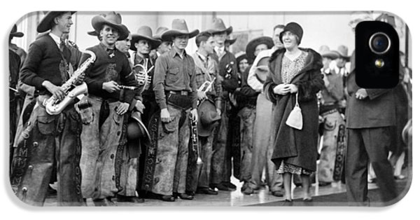 Cowboy Band, 1929 IPhone 5 Case by Granger