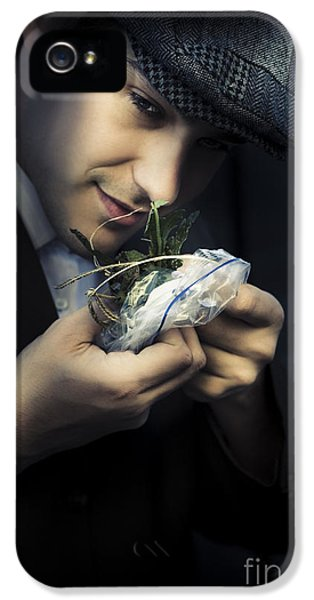 Criminal With Weeds And Green Grass IPhone 5 Case by Jorgo Photography - Wall Art Gallery