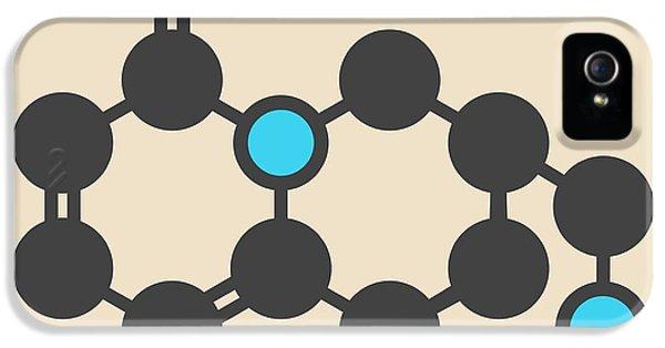 Cytisine Smoking Cessation Drug Molecule IPhone 5 Case by Molekuul