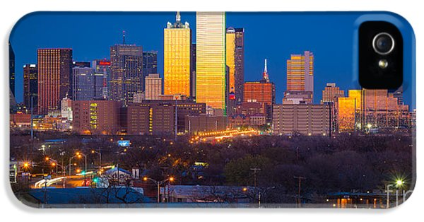 Dallas Skyline IPhone 5 / 5s Case by Inge Johnsson