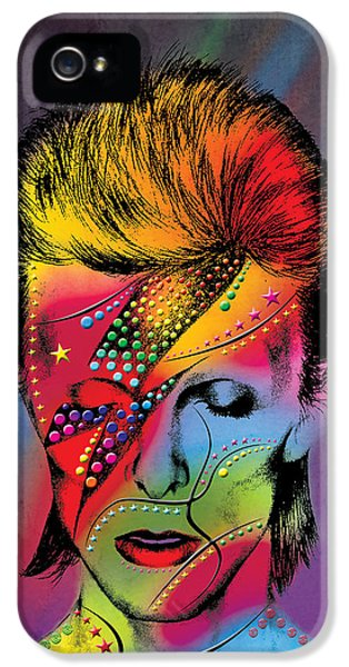 Legends iPhone 5 Case - David Bowie by Mark Ashkenazi