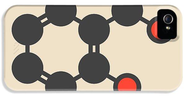 Toxicity iPhone 5 Case - Dicamba Herbicide Molecule by Molekuul