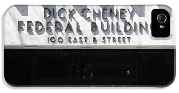 Dick Cheney Federal Bldg. IPhone 5 Case by Oscar Williams