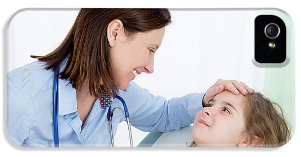Doctor Caring For Girl IPhone 5 Case
