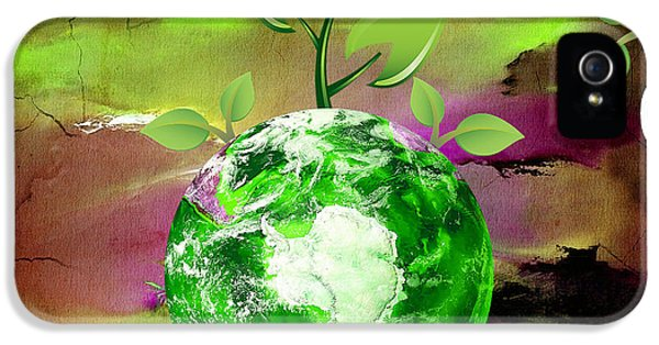 Eco Awareness IPhone 5 Case by Marvin Blaine