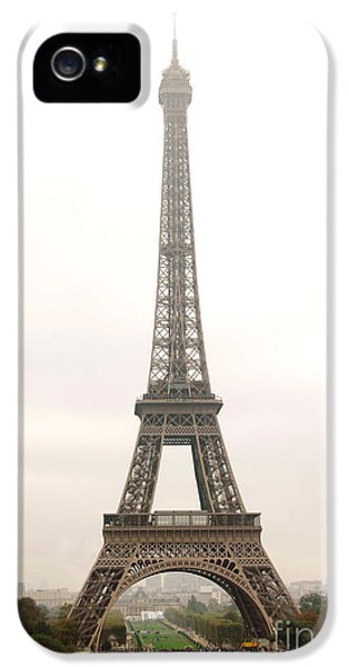 French iPhone 5 Case - Eiffel Tower by Elena Elisseeva