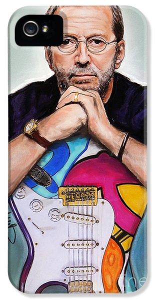 Eric Clapton IPhone 5 Case by Melanie D