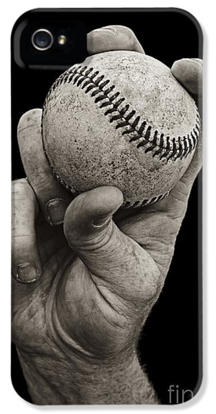 Fastball IPhone 5 Case by Diane Diederich