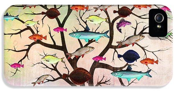 Fish  IPhone 5 Case by Mark Ashkenazi
