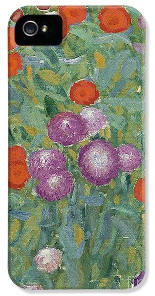 Flower Garden IPhone 5 Case by Gustav Klimt