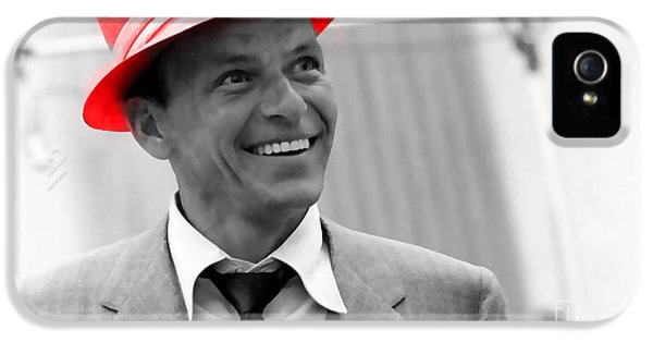 Frank Sinatra IPhone 5 Case by Marvin Blaine