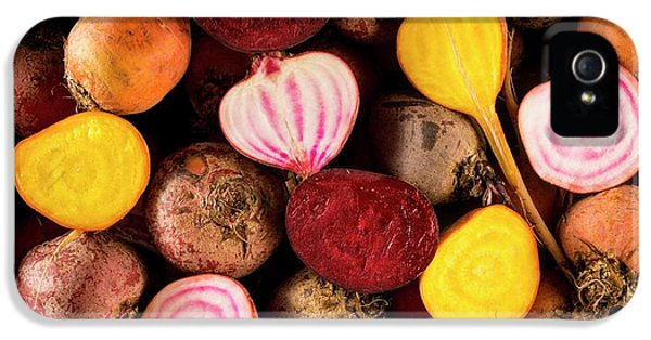 Fresh Beetroot And Red Onions IPhone 5 Case by Aberration Films Ltd