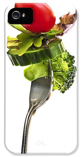 Fresh Vegetables On A Fork IPhone 5 Case by Elena Elisseeva